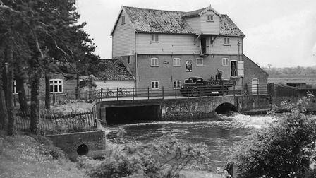 Elsing Mill will be full of ducks for a race along the river. Archive 1949 picture: Archant Library