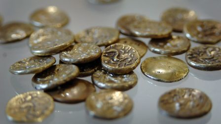 39 coins from the ice age were discovered in Sedgeford. Picture: ARCHANT LIBRARY
