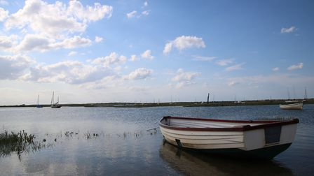 A beautiful High tide at Brancaster Staithe.