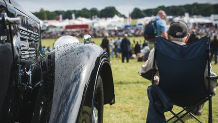 Holkham fair in the sunshine. Picture: Carl Cowell