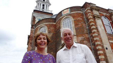 Debbie Thompson and Barry Coleman at St George's Theatre in Great Yarmouth