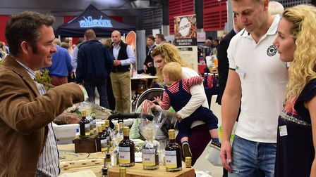 Local Flavours 2015 trade show of East Anglia's food and drink producers. Picture: DENISE BRADLEY