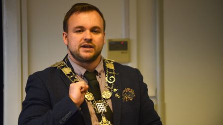 Councillor Terry Jermy, picture earlier this year when he was Thetford mayor, is backing the proposa