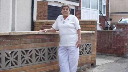 Ann Martin was helped by the police. Photo: Great Yarmouth Police/Facebook