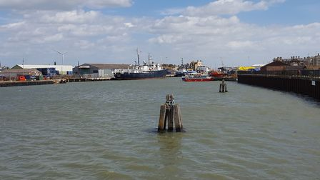 Activity at the Port of Lowestoft on July 28, its busiest day of the year so far. Picture: ABP