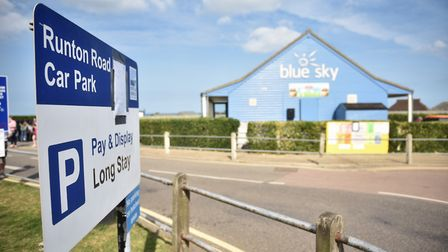 North Norfolk District Council evicted 23 traveller caravans from its Runton Road car park in Cromer