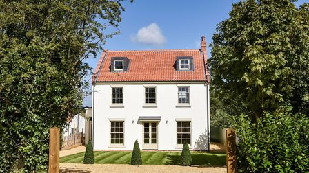 The exterior of Burnham Chase. Picture: courtesy of Sowerbys