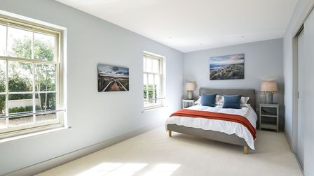 The property has five double bedrooms with panoramic views. Picture: courtesy of Sowerbys