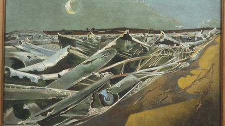 The Sainsbury Centre for Visual Arts is hosting an exhibition of the work of artist Paul Nash from A