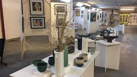 Breckland Artists are hosting their annual Norwich Summer Exhibition at the Undercroft. Photo: supp