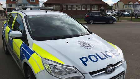 There has been a high visibility police presence in Cromer and Sheringham, including here at Runton