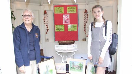 The Swaffham Lions held a raffle draw to help Sophie Burke to raise enough money to see a specialist