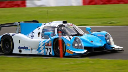 Thomas Randle in action at Snetterton. Picture: TRL