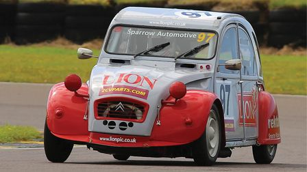 Team Lion - 2CV winners for the past three years. Picture: Tony Pitcher