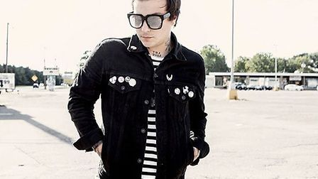 Former My Chemical Romance guitarist, Frank Iero to perform at Norwich Waterfront with his new band.