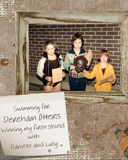 Julie, who grew up in Dereham, used to swim for the Dereham Otters team as a child. Photo: Joan Isbi