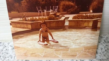 Julie, aged 5, on holiday in Jersey, shortly before joining the Otters. Photo: Joan Isbill