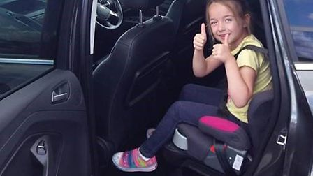 Norfolk County Council has been carrying out checks on child car seats. Pic: Norfolk County Council.