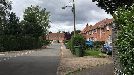 Bexfield Close in Foulsham. Picture: Steve Shaw