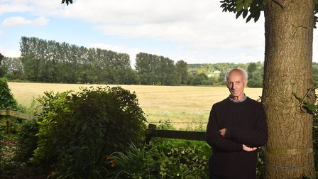 Residents around the Tud Valley in Costessey are angry at proposed housing development plans. Valley