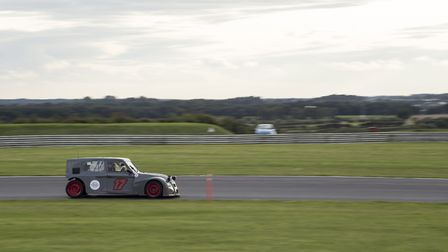 The Belgium Seventeen MCC�s highly developed 2CV based car contesting the European category at the 2