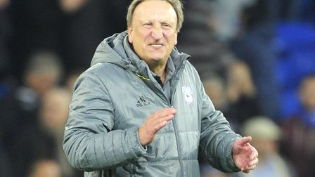 Neil Warnock's Cardiff City are sitting pretty at the top of the Championship after four games. Pict