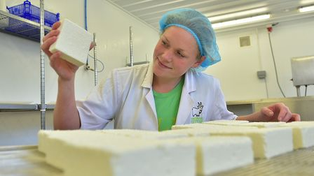Fielding Cottage, goat's cheese producers. Emma Tabrett. Picture: ANTONY KELLY