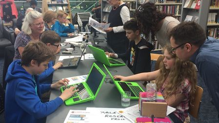 Step into Tech aims to help youngsters interested technology to find out more about the industry. Pi