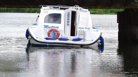 An Alphacraft boat on the Broads. Picture: DENISE BRADLEY
