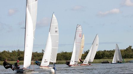 Action from the Norfolk Punt Championships that took place last weekend. Picture: Robin Myerscough