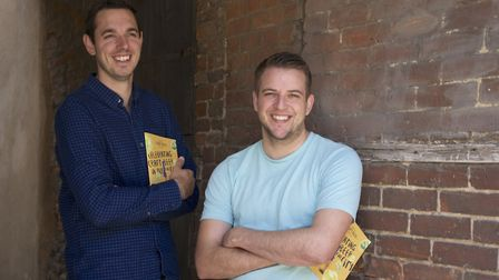 Jake Thorogood (left) and Craig Cutting, the organisers of Norwich Craft Beer Week 2017. Photo: Stev
