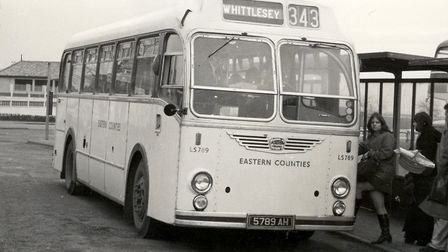 The LS 789 bus when it was being downgraded. Picture: ETCS ARCHIVE