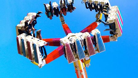 The Fireball at Pleasurewood Hills. Picture: Supplied.