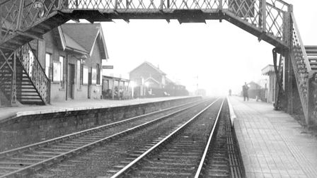 Fakenham West staion closes, 24th February 1959. Picture: Archant Library