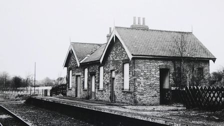 Whitwell and Reepham Railway Station in the early 1980's. Picture: Archant Library