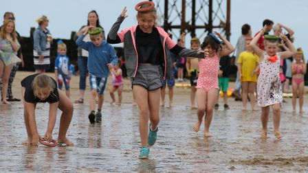 Everyone looked like they were having a fab time down at the beach in Cromer as the Carnival committ