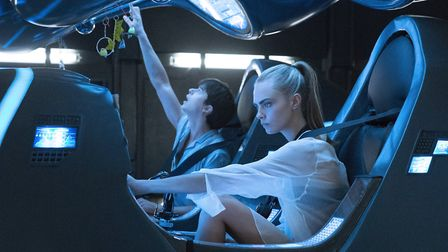 Dane DeHaan and Cara Delevignge in Luc Besson's Valerian and the City of a Thousand Planets. Picture
