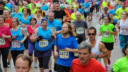 Runners will be out in force this weekend at Run Norwich. Photo : Steve Adams