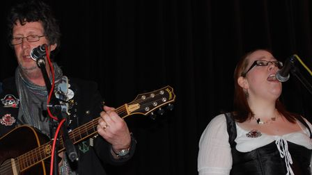 Andy McBride and Linds Hall, from Picaroon, who will be performing at the festival.