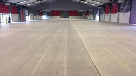 The warehouse where the event will be held. Picture: The Dancing Astronaut.