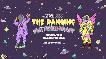 The Dancing Astronaut. Picture credit: The Dancing Astronaut, by Lee Murray,