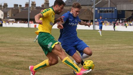 Ollie Humphrey, in action here against Norwich City, could be one of the new faces in action for Low