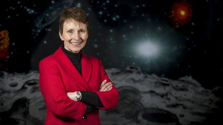 Astronaut Helen Sharman speaks at the Waterfront Museum, Swansea, South Wales.PIC Matthew Horwood