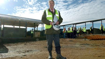 Landowner Michael Gurney has unveiled plans for a new development in Cromer. Picture: Archive