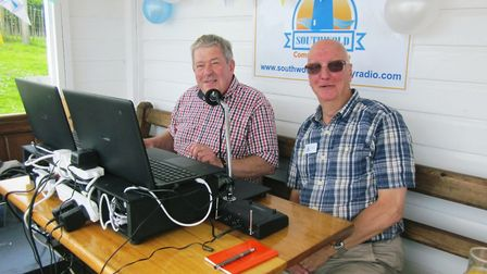 East Point Radio, formerly Southwold and Lowestoft Community Radio, launched in 2016. Photo: Courte