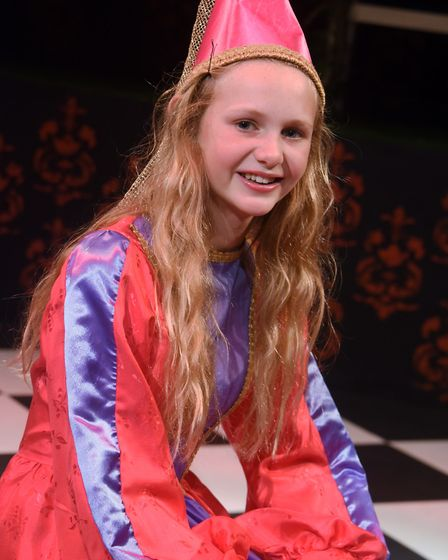 Daisy Harris as Aurora in Sleeping Beauty being performed at the Garage. Picture: DENISE BRADLEY