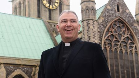 Rev Simon Ward, the new team rector at Great Yarmouth Minster. Picture: DENISE BRADLEY
