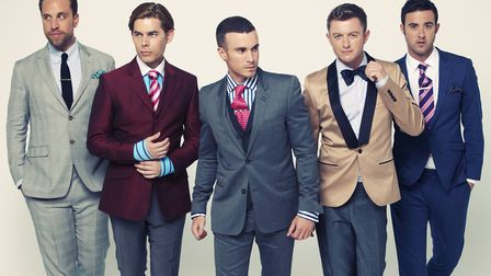 The Overtones. Picture Archant Library.