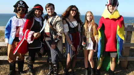 Cromer Carnival welcomed a record turnout for its fancy dress parade. Pictures: ALLY McGILVRAY