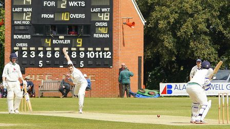 Last month's EAPL match between Horsford and Copdock at Manor Park was cut short by the umpires beca